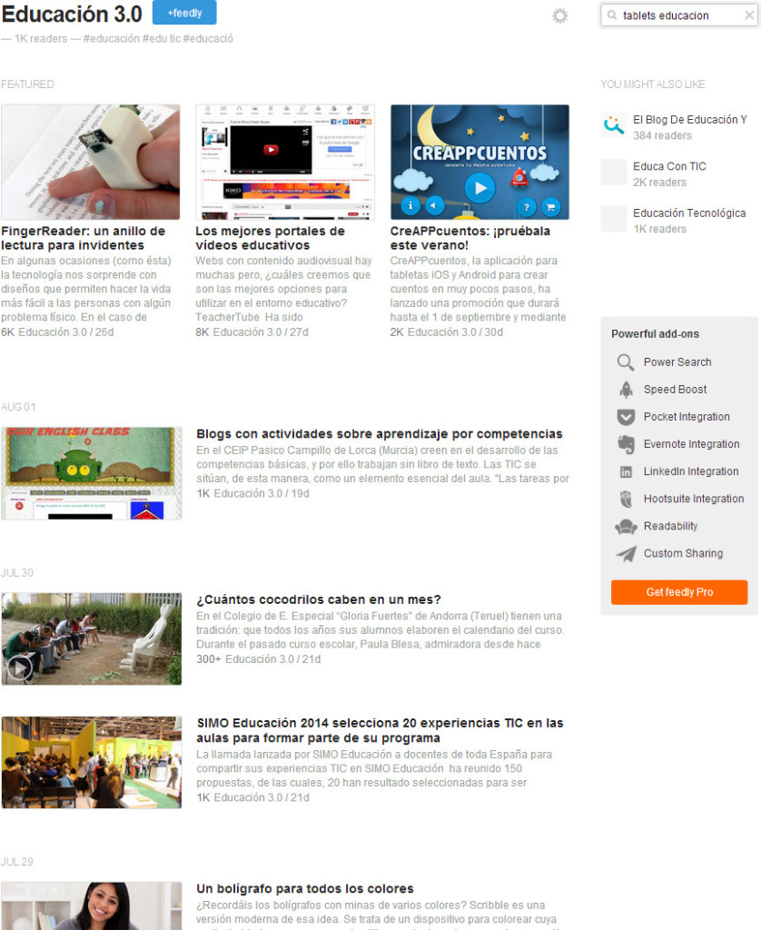 feedly_educacion3.0
